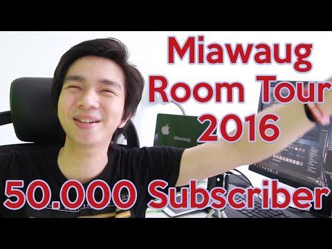 Miawaug Room Tour 2016 - Happy 50.000 Subscribers