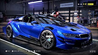 Need for Speed Heat - BMW i8 Roadster 2018 - Customize | Tuning Car (PC HD) [1080p60FPS]