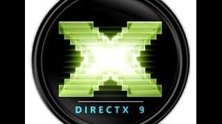 Как установить DirectX 9. (Windows 7 и.т.д)