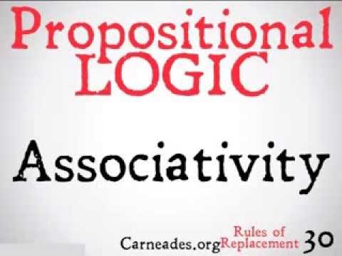 Associativity (Propositional Logic)