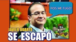 Javier Duarte... de Gobernador a Prófugo