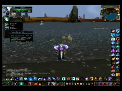 Wow fishing daily blood is thicker guide youtube for Wow fishing guide