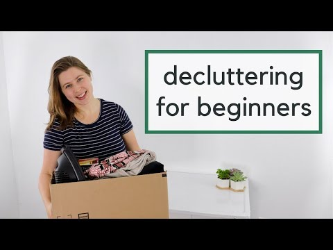 The 4 Step Plan to Declutter Your Life | Decluttering for Beginners