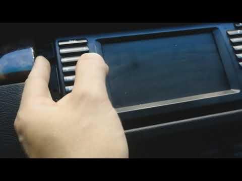 Подключение AUX провода в BMW X5 E53, Bm54