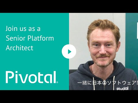 APJ - Tokyo, Japan - Join us as a Senior Platform Architect