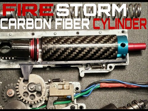 FireStorm Airsoft Carbon Fiber Cylinder