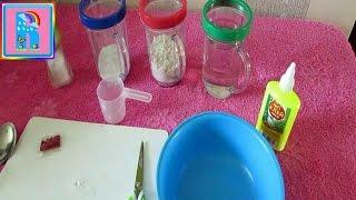 Как сделать тесто для лепки (как Play - Doh)/How to make the dough for sculpting (as Play - Doh)