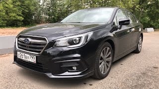Subaru Legacy - полноприводная Камри?