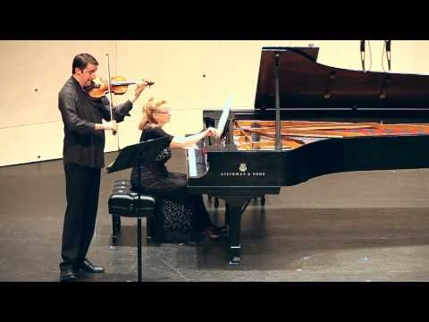 Leoš Janácek Sonata for Violin and Piano  FF2014