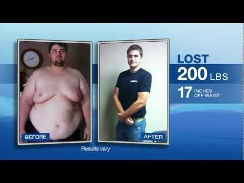 Richard Neal P90X Success Story. Over 200 lbs. Lost