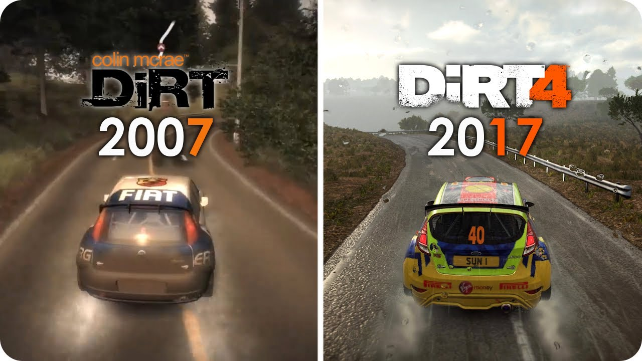 dirt pc graphics evolution from colin mcrae dirt 1 to dirt 4 pc ultra settings youtube. Black Bedroom Furniture Sets. Home Design Ideas