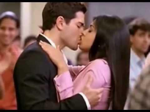 Shriya Saran Hot Lip Kiss
