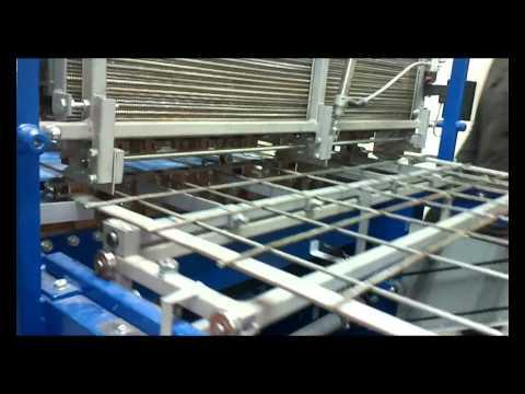 Машина для сварки арматурной сетки MTM_1000_2.avi