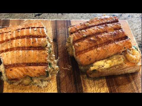 Best Smoked Stuffed Salmon Recipe