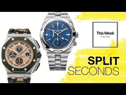Split Seconds: The Audemars Piguet Royal Oak Offshore vs. The Vacheron Constantin Overseas Dual Time