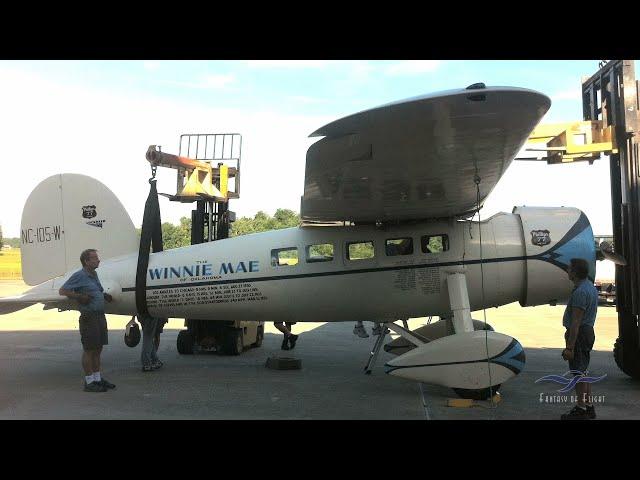 Lockheed Vega - Project Visit - Part 1