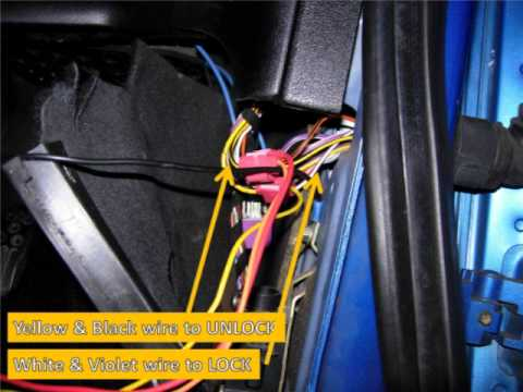 hqdefault ford ka remote central locking tutorial! how to fit yourself ford ka central locking wiring diagram at virtualis.co