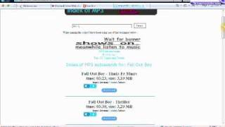 How to download mp3 without using any P2P File Sharing Software