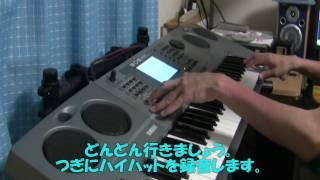第1回「crazy gonna crazy」の作り方  by YAMAHA EOS B2000