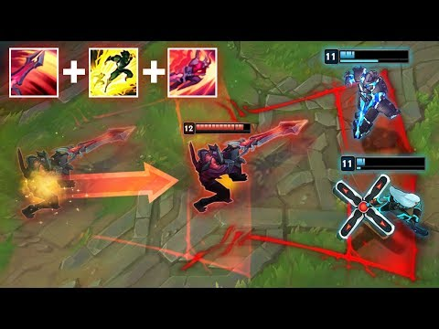 THE POWER OF REWORKED AATROX - INSANE ABILITY COMBOS - League of Legends