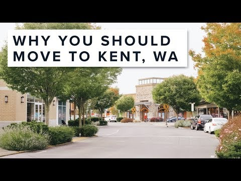Why You Should Move To Kent, WA!
