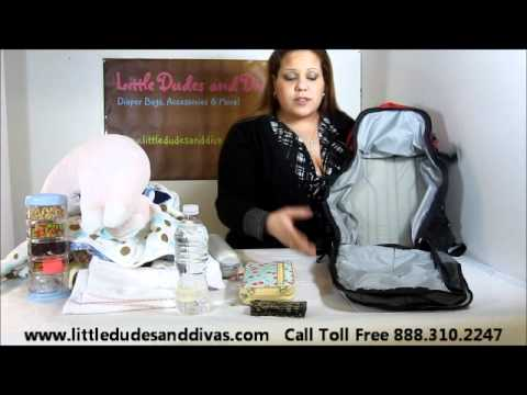 DadGear Backpack Diaper Bag Features