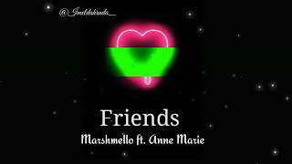 Tumblr light video - Friends (Anne Marie ft. Marshmello)