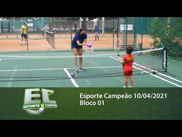 Esporte Campeão 10/04/2021 - Bloco 01