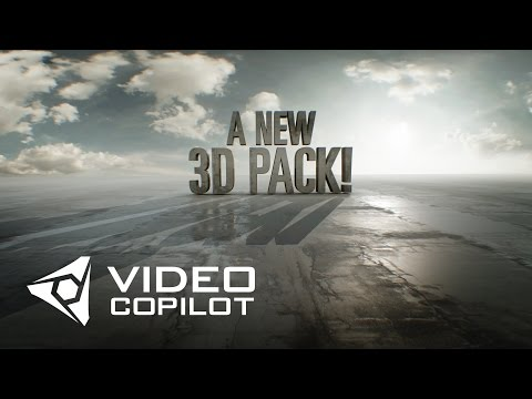 Teaser: New 3D Pack from Video Copilot! 100% Free!