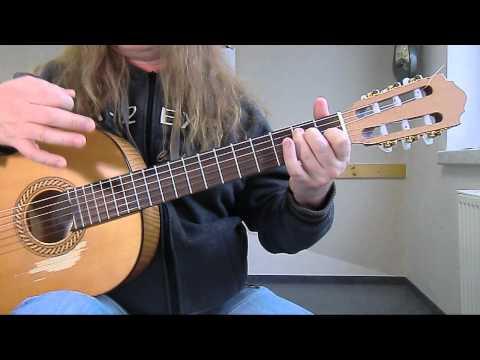Rote Lippen soll man küssen - Peter Kraus / Akkorde (Gitarrenlehrer Chemnitz)