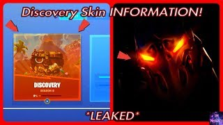 *NEW* Discovery Skin INFORMATION! (Season 8 LEAKED) | Fortnite Battle Royale