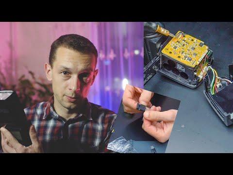 Ремонт  внешней накамерной вспышки YN 568 EX. Замена разжигающего транзистора.