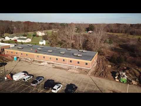 Genesee STEM Academy - Modular Building Addition Drone Video