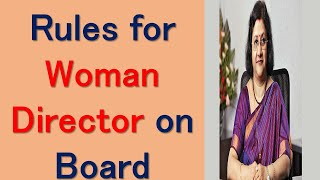 Requirement for appointment of Woman Director in Companies