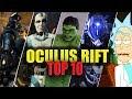 OCULUS RIFT TOP 10 BEST VR GAMES【Portal Virtual Reality】