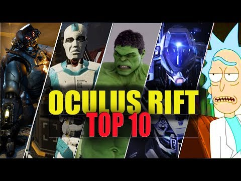 OCULUS RIFT TOP 10 BEST VR GAMES【Portal Virtual Reality】