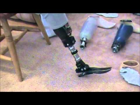 how to make a prosthetic leg for a cat