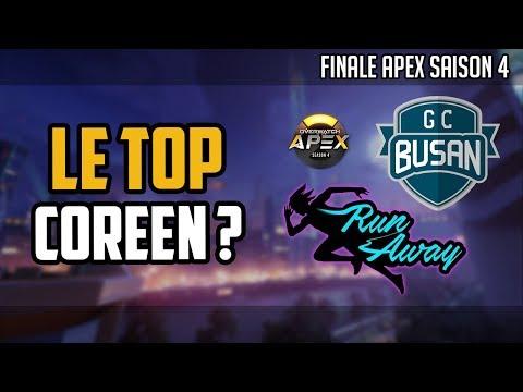 GC Busan vs RunAway : Présentation de la finale de l'APEX Saison 4