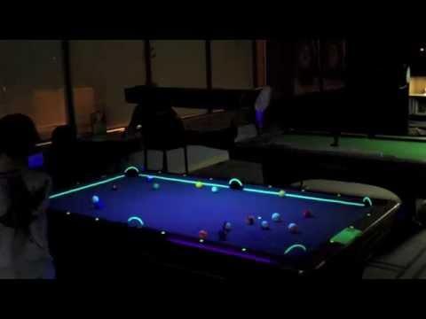 Neon Pool Demo YouTube - Neon pool table