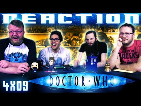 """Doctor Who 4x9 REACTION!! """"Forest Of The Dead"""""""