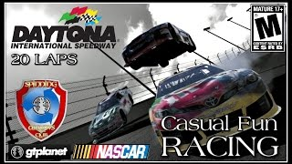 Video Gran Turismo 6 | DIRTY NASCAR Race at Daytona (Funny) | Online Race download MP3, 3GP, MP4, WEBM, AVI, FLV Desember 2017