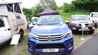 4x4 camping vehicles from Extrem, Germany
