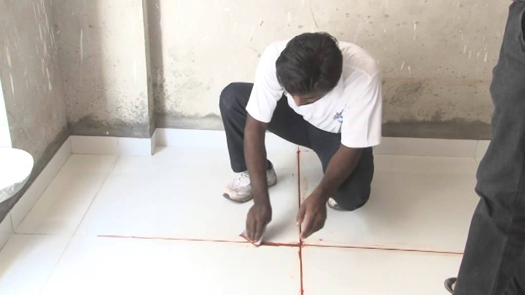 Epoxy Grout Application Youtube