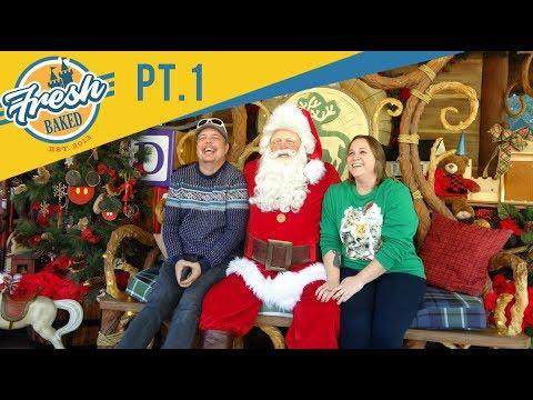 How CUTE Is This Santa Claus At Disneyland!   12/08/18 Pt. 1