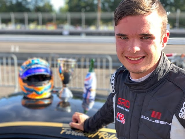 A hot lap with Austin Riley at the wheel of the brand new Saleen S1 Cup Car from the inaugural Saleen Cup Race at Portland International Raceway.   Austin and his Co-driver finished 1st in class and 3rd Overall again making history.
