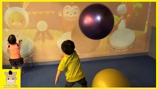 Indoor Playground for Kids and Family Fun Play Jump Kids Cafe Cocomong Pororo | MariAndKids Toys