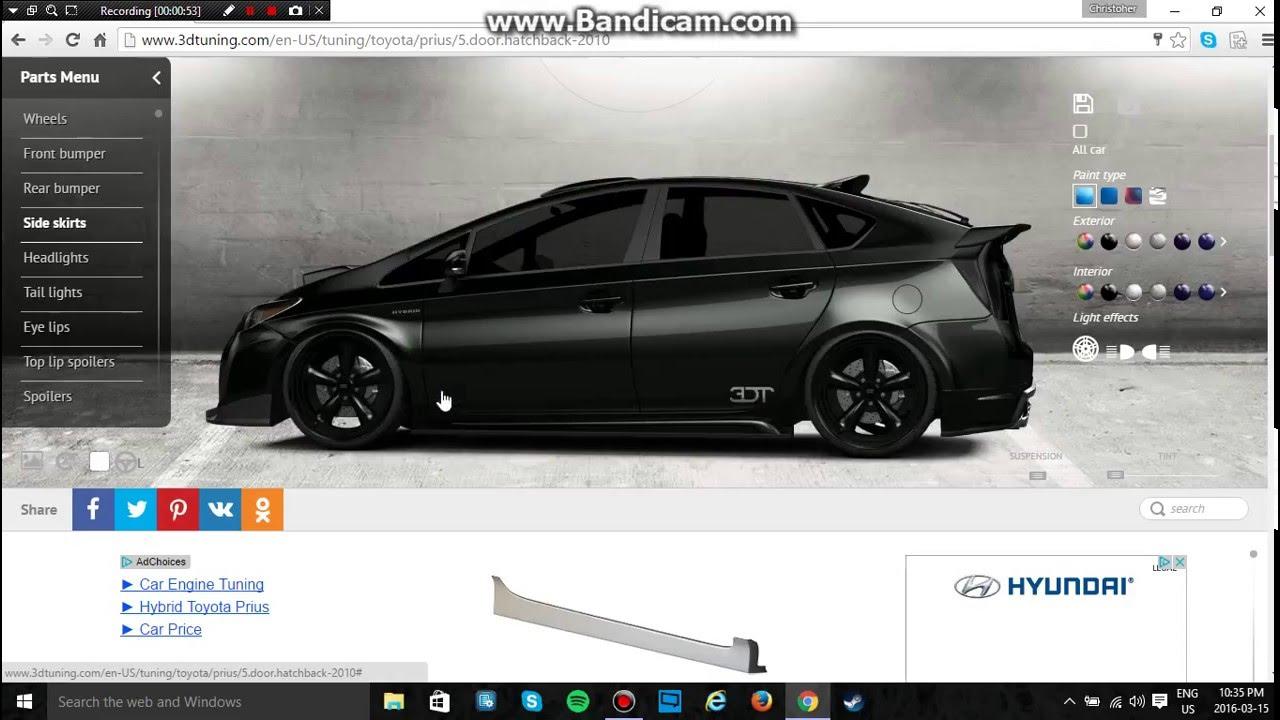 I Customized A Prius Youtube