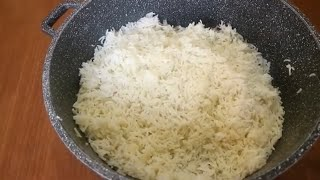 The simple and easy way  to cook the perfect Basmati rice