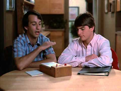 Image result for bronson pinchot in risky business