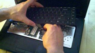 Dell Inspiron M5030 Hard Disk Keyboard Ram Replacement And Cable Connections